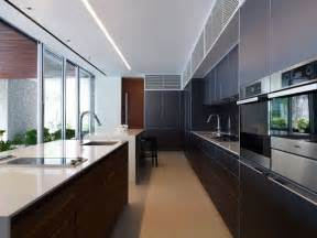 kitchen design ideas long narrow kitchen house decor picture