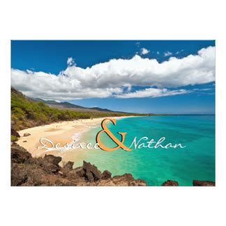 Wedding Announcements Hawaii by Hawaii Wedding Invitations Announcements Zazzle