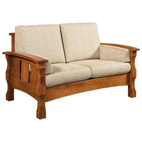 Handmade Furniture Company - amish sofa amish sofas loveseats furniture shipshewana co