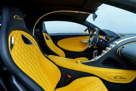 bugatti chiron interior first bugatti chiron in the united states