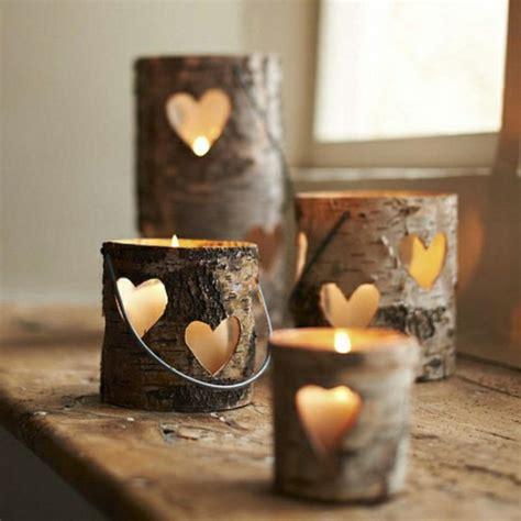 holzstamm deko f 252 r ihr zuhause archzine net - Deco Kerzen