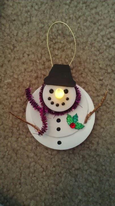 tea light snowman things i ve made pinterest