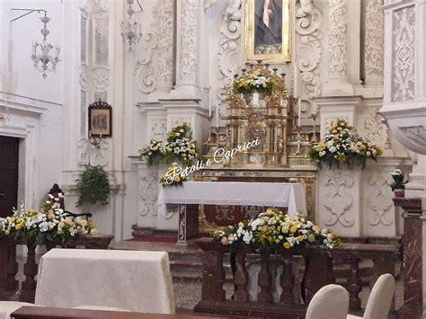 allestimento fiori chiesa matrimonio allestimenti floreali chiese il sogno degli sposi inizia