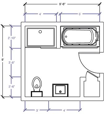 5 x 9 bathroom floor plans kohler canada 9 x 9 6 quot floor plan options bathroom 6