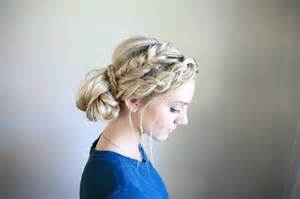 hairstyles mixed mixed braid bun cute girls hairstyles