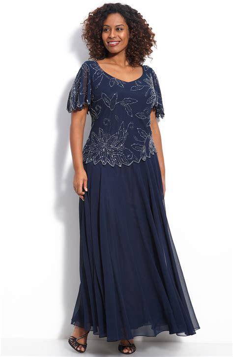j kara beaded mock top gown 218 sz 18w j kara floral beaded gown navy of the