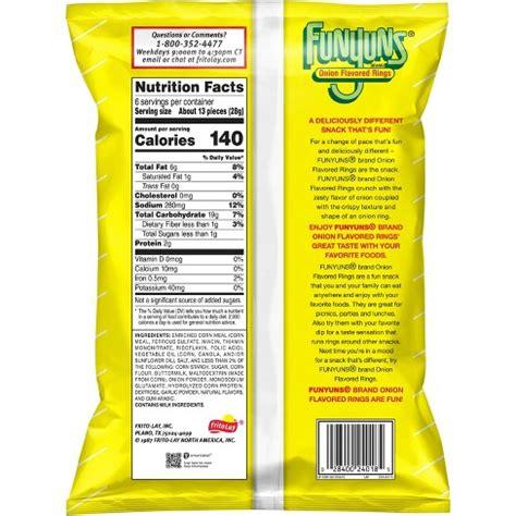 are hot funyuns gluten free funyuns nutrition information blog dandk