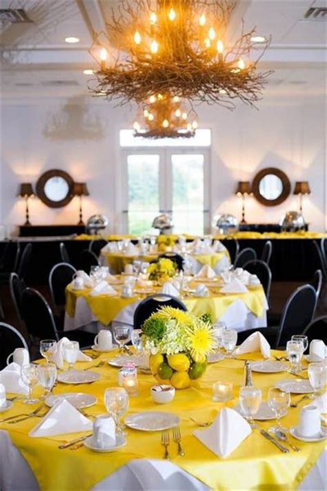 Lime And Yellow Decor by Lemon Lime Wedding Table Centerpieces Wedding Juxtapost