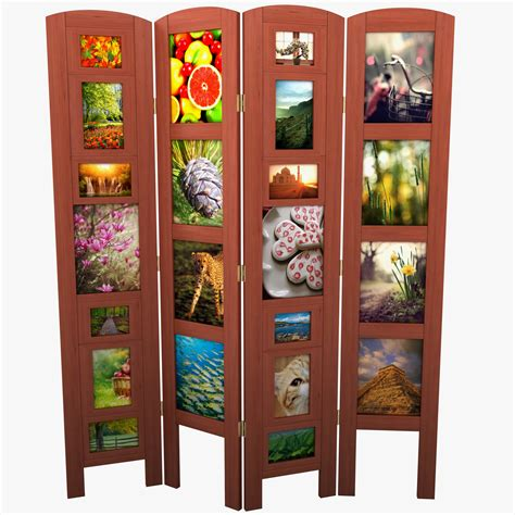 picture frame room divider photo frame room divider 3d model