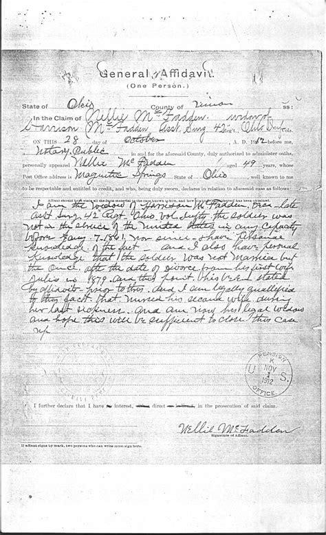 Harrison County Divorce Records The Genealogy Center Presents Our Heritage Mcfadden Harrison 42nd Ohio