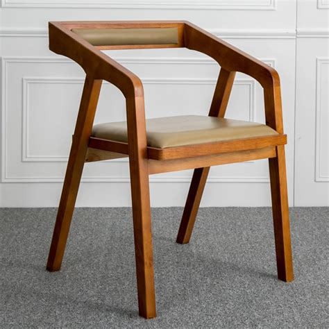 modern wood computer chair aliexpress buy louis fashion nordic solid wooden