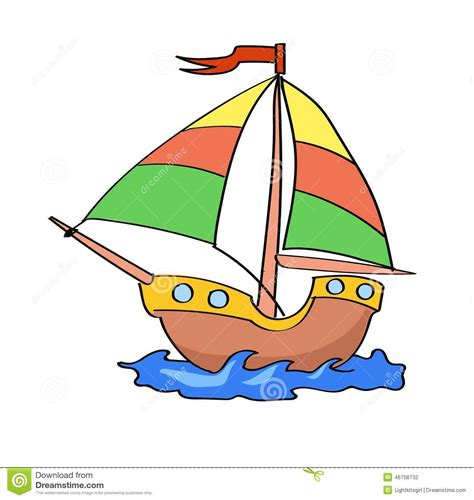 cartoon yellow boat colorful boat clipart clipground