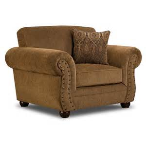 simmons troy bronze chenille chair at menards 174