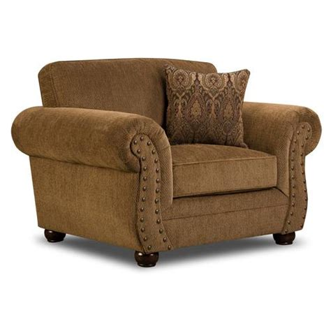 menards couch simmons troy bronze chenille chair at menards 174