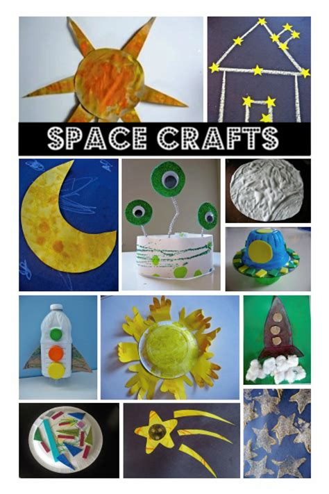 Space Themed Crafts Books No Time For Flash Cards