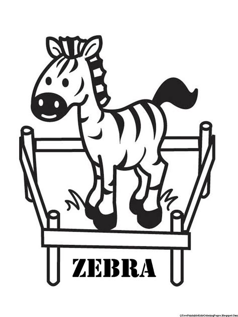 baby zebra coloring page zebra coloring pages free printable kids coloring pages