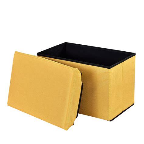 ottomane hocker en casa ottoman seat chest 48x32x32cm folding box sitting
