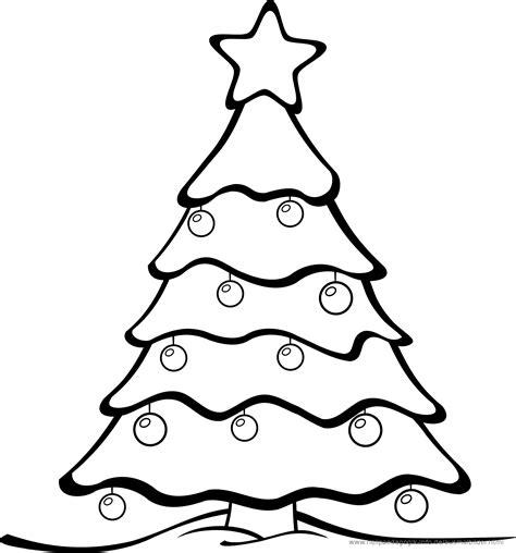 weihnachtsbaum zum ausmalen ausmalbilder weihnachten