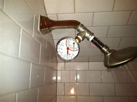 new shower low pressure and flow doityourself