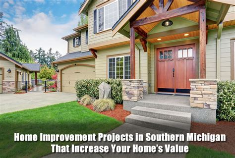 home improvement projects in southern michigan that