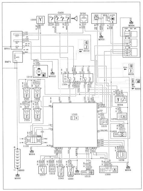 peugeot 406 towbar wiring diagram wiring diagram