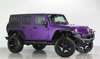 2014 jeep wrangler unlimited purple jeeps