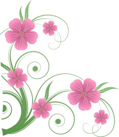 decorative flower flowers png decorative element clipart nature borders