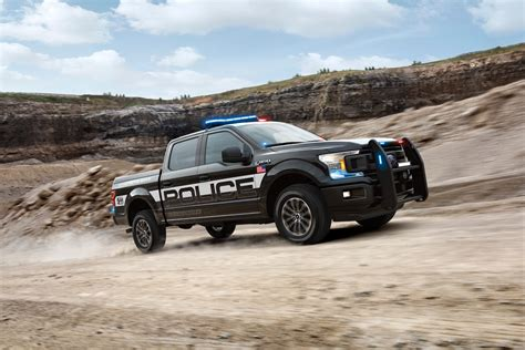 police truck ford f 150 becomes the first pursuit rated pickup truck