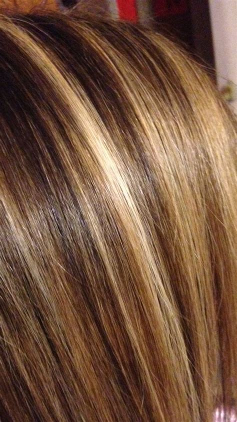 hair foils colour ideas close up 3 color foil hair creations pinterest