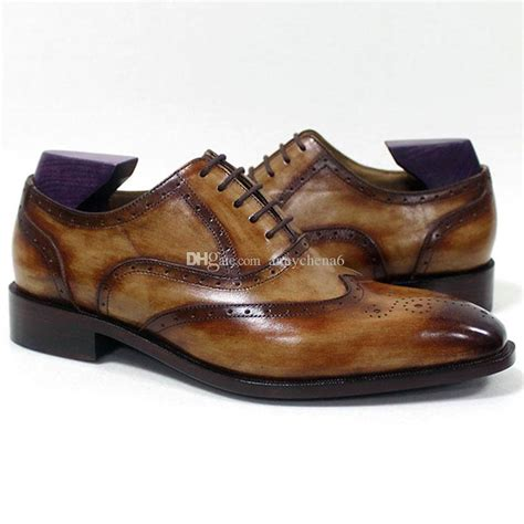 Handmade Shoes Canada - dress shoes oxfords shoes custom handmade shoes square