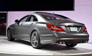 mercedes cls 63 amg coupe photos and comments www