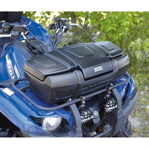 Atv Front Rack Box by 174 Deluxe Atv Front Box 228546 Racks Bags At