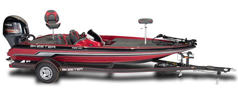 new 2017 skeeter tzx190 bass fishing boat red yamaha 150hp - Skeeter Boat Value