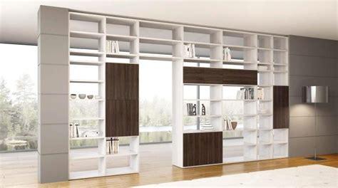 librerie divisorie in legno libreria legno fai da te