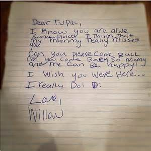 When Do College Letters Come Back Willow Smith Dear Tupac Come Back So Can Be Happy