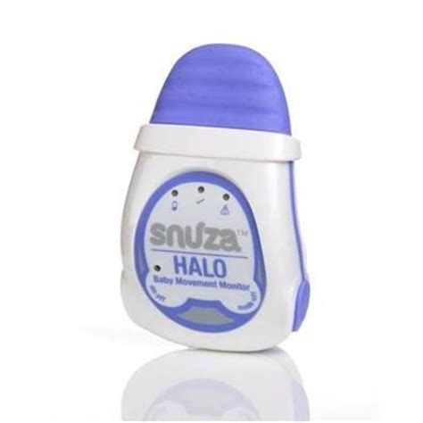 Baby Breathing Monitor For Crib Snuza Halo Infant Breathing And Movement Monitor On To The Baby Craziest Gadgets