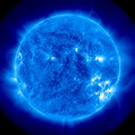Blue Nasa nasa blue sun blue