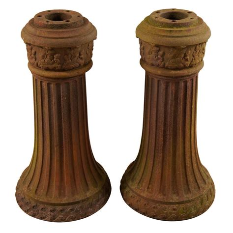 Cast Iron L Post by Cast Iron L Post Bases At 1stdibs