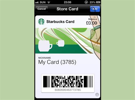 Add Gift Card To Passbook - 3 ways to add cards to passbook wikihow