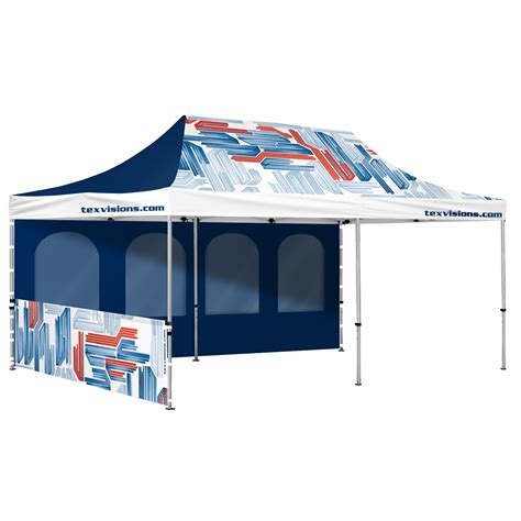10 x 20 canopy walls event advertising canopy 10 x 20 with walls custom print