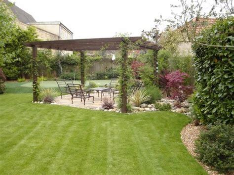 Incroyable Jardins Et Terrasses Photos #1: modele-jardin-moderne-4.jpg