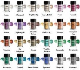 Make Up Nyx Terbaru want them all nyx pigments cosmeticsjunkielist