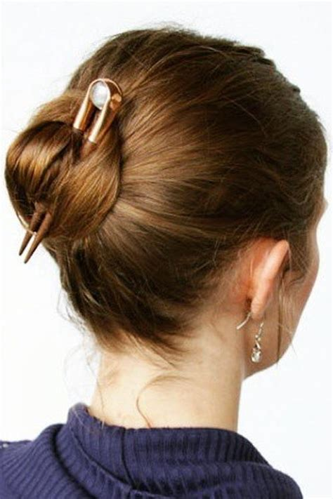 elegant hairstyles buns 20 pretty everyday bun updos short updo hairstyles for