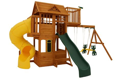 wooden swing sets australia our new climbing frame the skyline swingset climbing