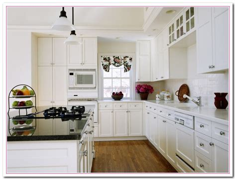 White Kitchen Design Ideas Within Two Tone Kitchens Home Decorating Ideas For Kitchens With White Cabinets