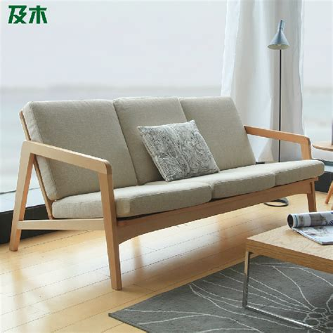 Nordic contracted design creative japanese style furniture european beech solid wood cloth
