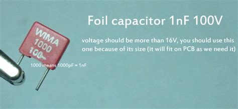 capacitor 1nf 100v building a simple wireless energy transfer circuit step by step