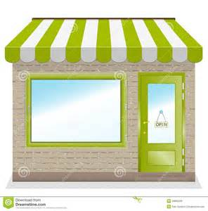 Window Awnings For Sale Cute Shop Icon With Green Awnings Royalty Free Stock
