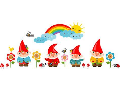 Wandtattoo Kinderzimmer Regenbogen by Wandsticker Kinderzimmer Gartenzwerge Regenbogen