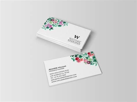 planning cards template wedding and event planner business cards j32 design
